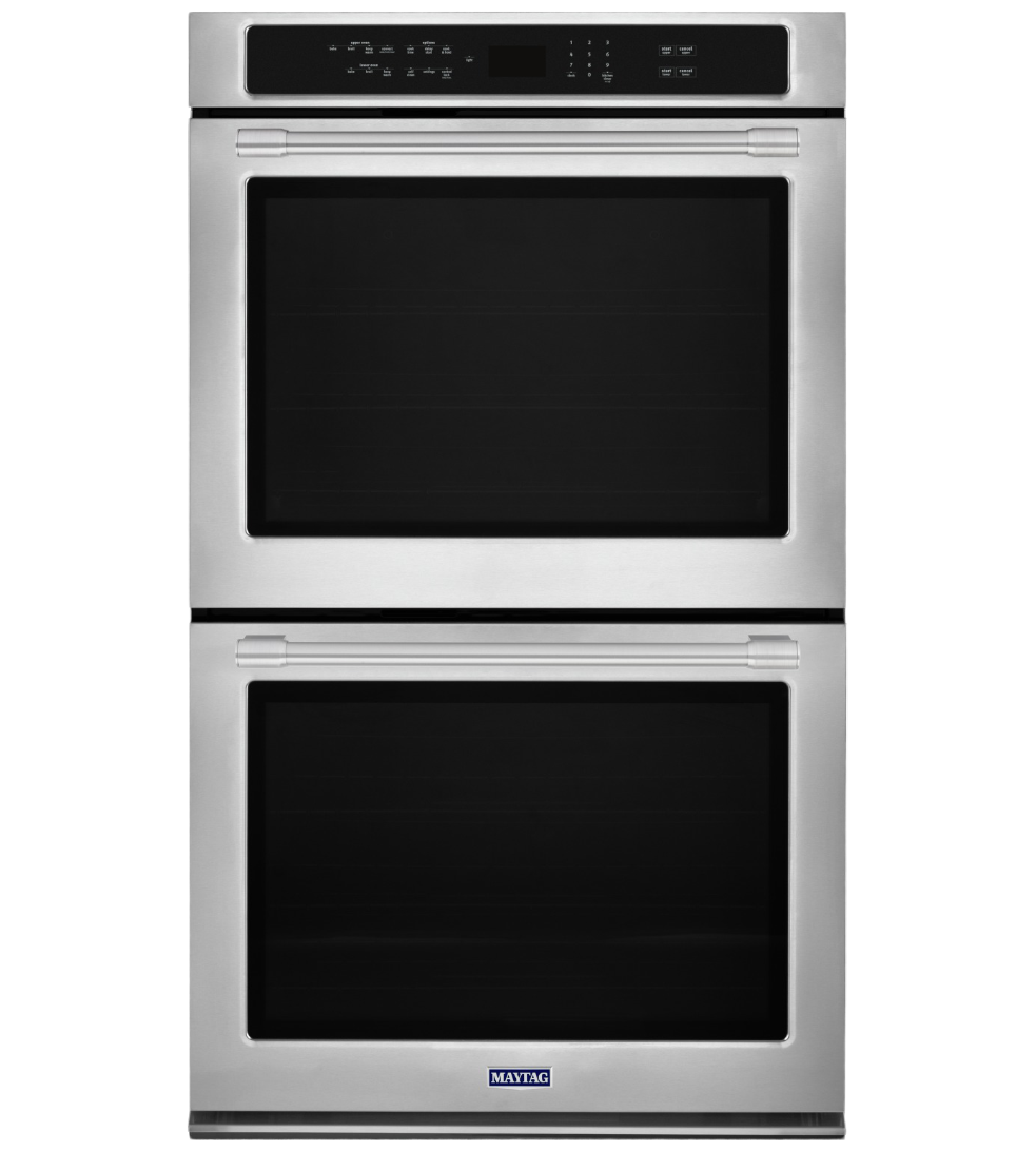 Maytag Wall oven in Stainless Steel color showcased by Corbeil Electro Store