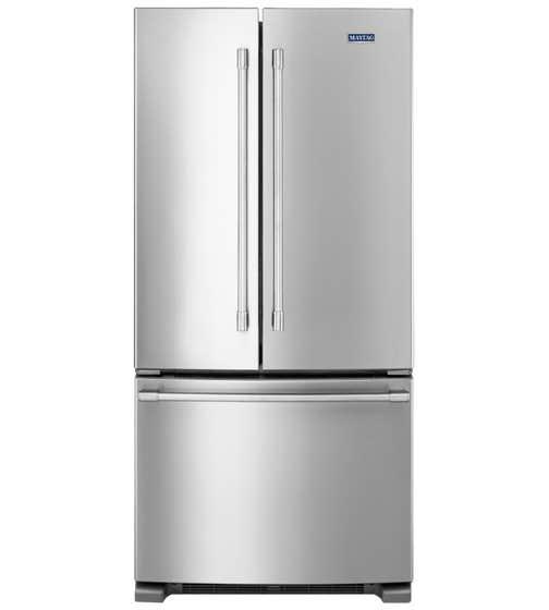 Maytag Réfrigérateur 33 Acier Inoxydable en couleur Acier Inoxydable présenté par Corbeil Electro Store