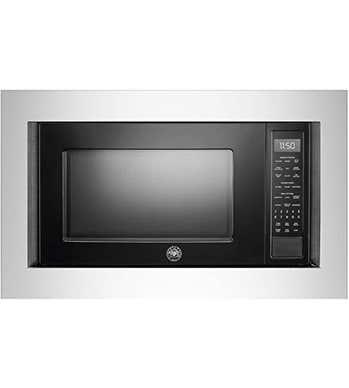 Bertazzoni Micro-ondes 24po en couleur Noir présenté par Corbeil Electro Store