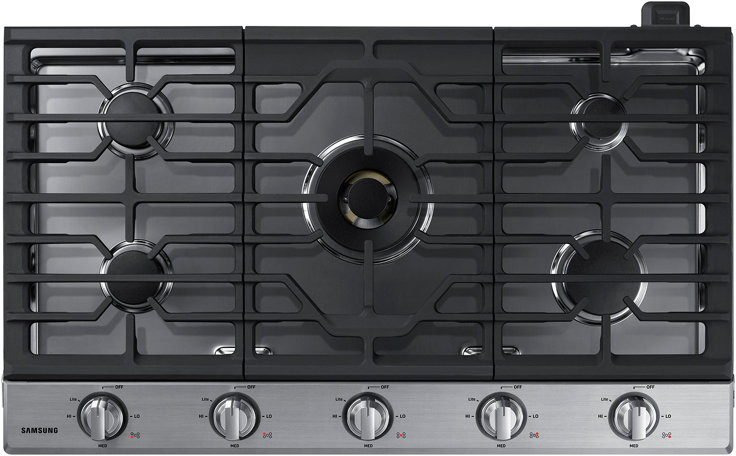 Samsung Cooktop showcased by Corbeil Electro Store