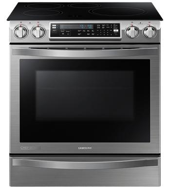 Samsung Cuisiniere 30 Acier Inoxydable NE58H9970WS