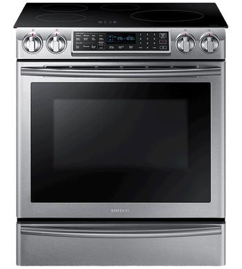 Samsung Cuisiniere 30 Acier Inoxydable NE58K9560WS