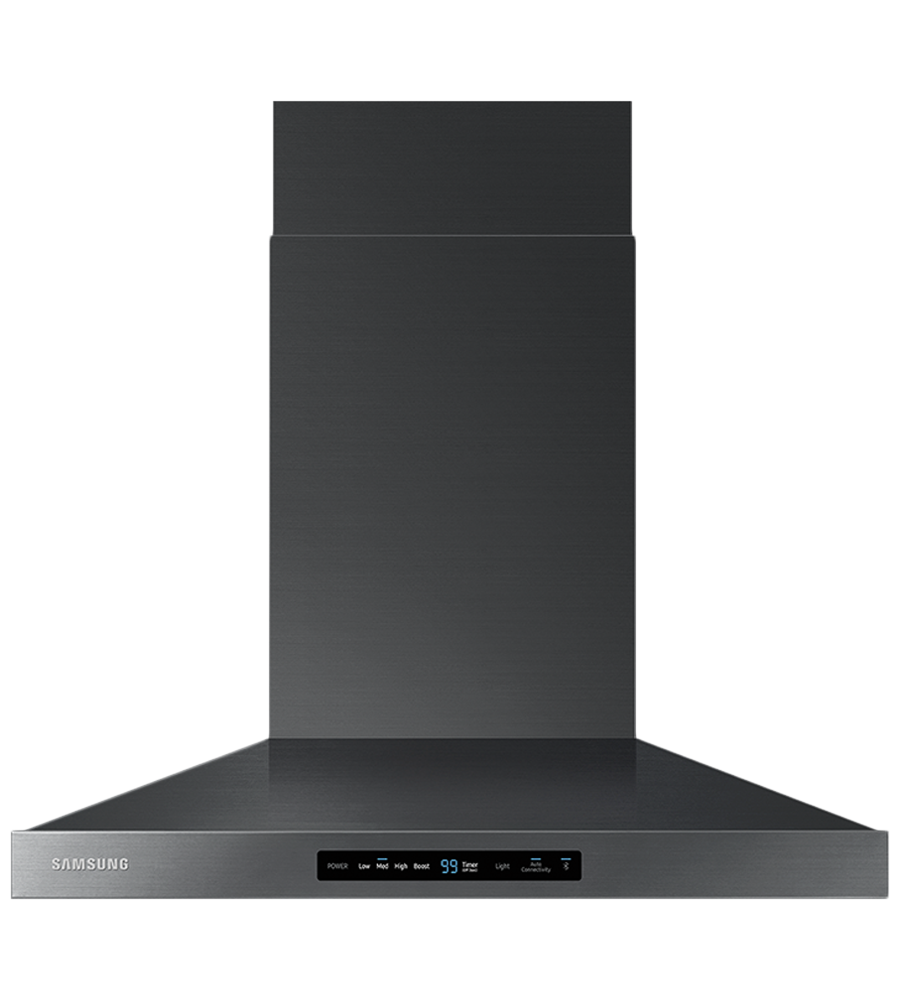 Samsung Ventilation in Black Stainless Steel color showcased by Corbeil Electro Store