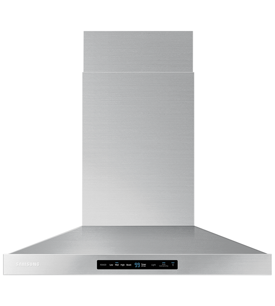 Samsung Ventilation in Stainless Steel color showcased by Corbeil Electro Store