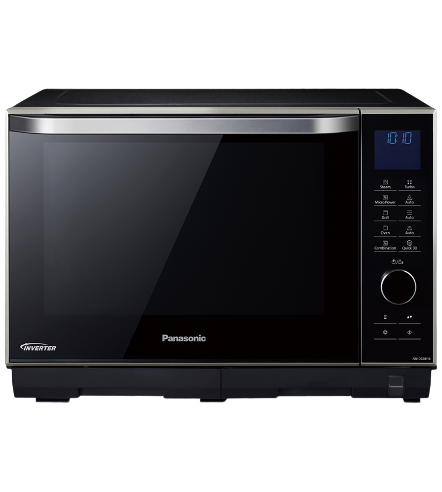 Countertop Microwave in Black color showcased by Corbeil Electro Store