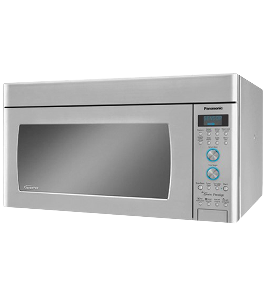 Over-the-range Microwave 30 StainlessSteel in Stainless Steel color showcased by Corbeil Electro Store