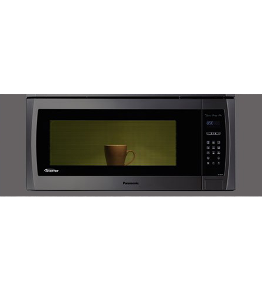 Over-the-range Microwave showcased by Corbeil Electro Store
