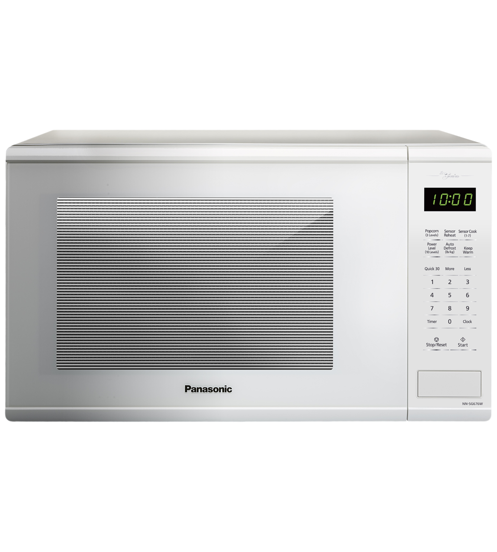Panasonic Microwave 21 NNSG676 showcased by Corbeil Electro Store