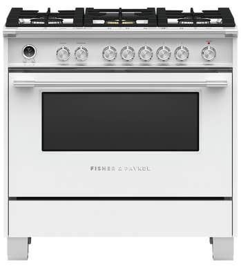 CuisinièreFisher & Paykel en couleur Blanc présenté par Corbeil Electro Store
