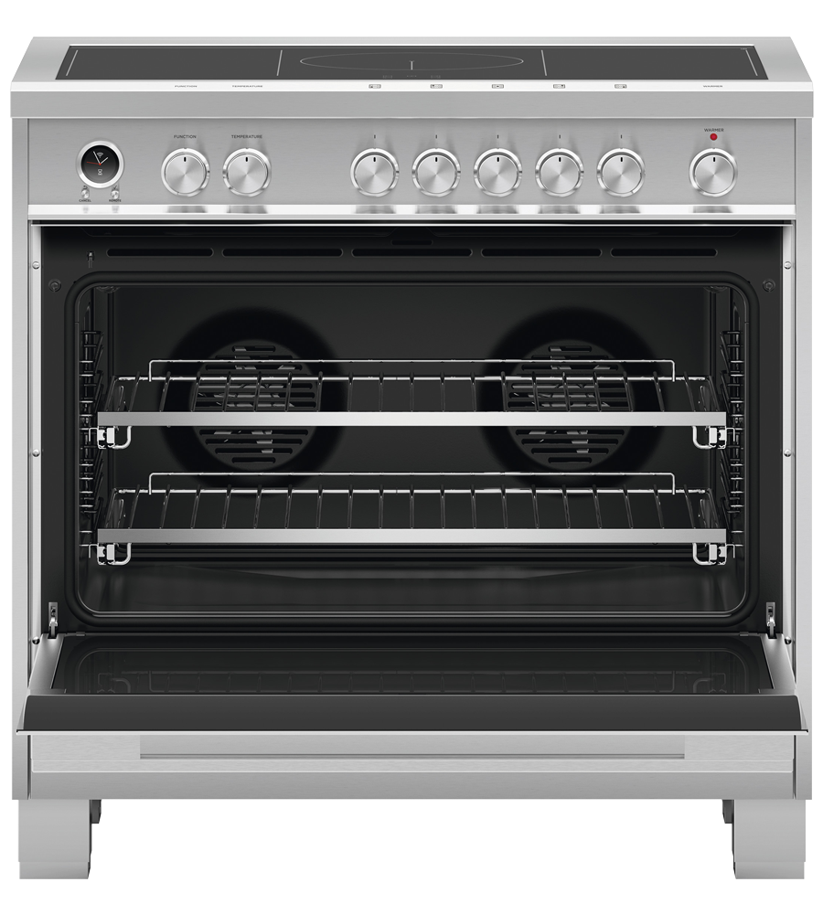 Fisher and Paykel Cuisiniere 36 Acier Inoxydable OR36SDI6X1