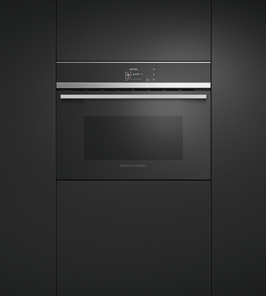 Fisher and Paykel Combination Oven 24 Black OS24NDB1