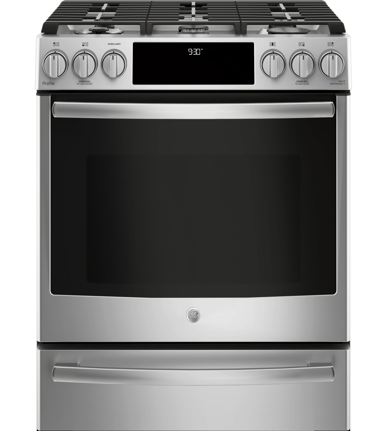 GE Profile Cuisiniere 30 Acier Inoxydable PC2S930SELSS