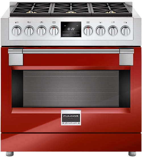 FULGOR Baking accessory in Red color showcased by Corbeil Electro Store