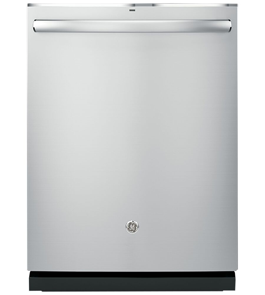 GE Dishwasher in Stainless Steel color showcased by Corbeil Electro Store