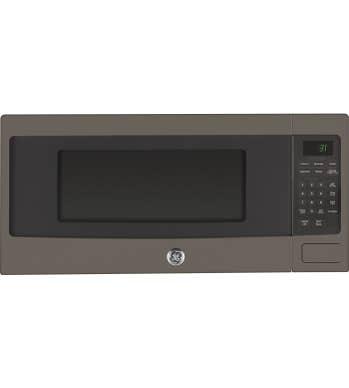 GE Micro-onde en couleur Ardoise présenté par Corbeil Electro Store