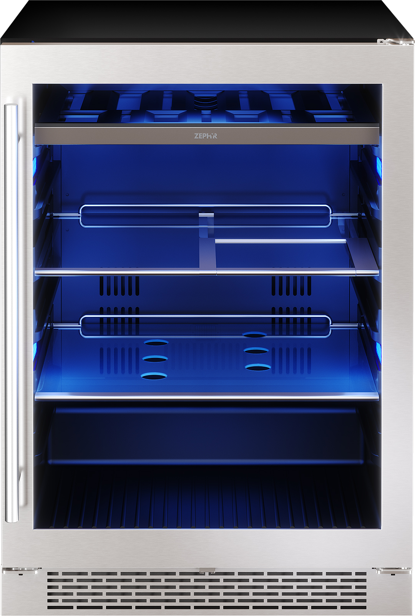 Zephyr Réfrigération spécialisée 24po en couleur Acier Inoxydable présenté par Corbeil Electro Store