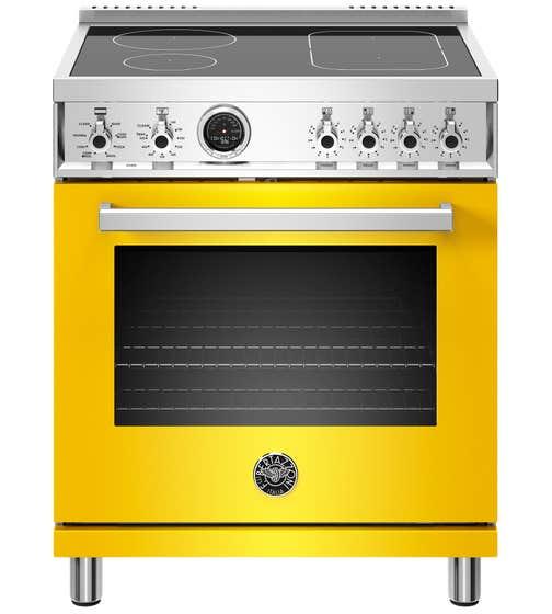 Bertazzoni Cuisinière 30po en couleur Jaune présenté par Corbeil Electro Store