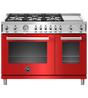 Bertazzoni Cuisiniere 48 Rouge PROF486GGASROT