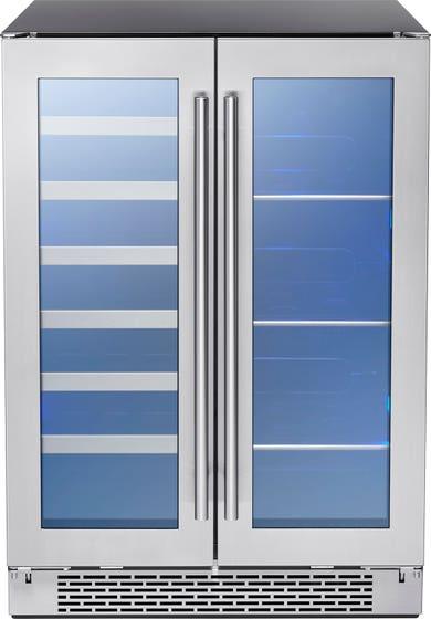 Preserv Cellier PRWB24C32BG en couleur Acier Inoxydable présenté par Corbeil Electro Store