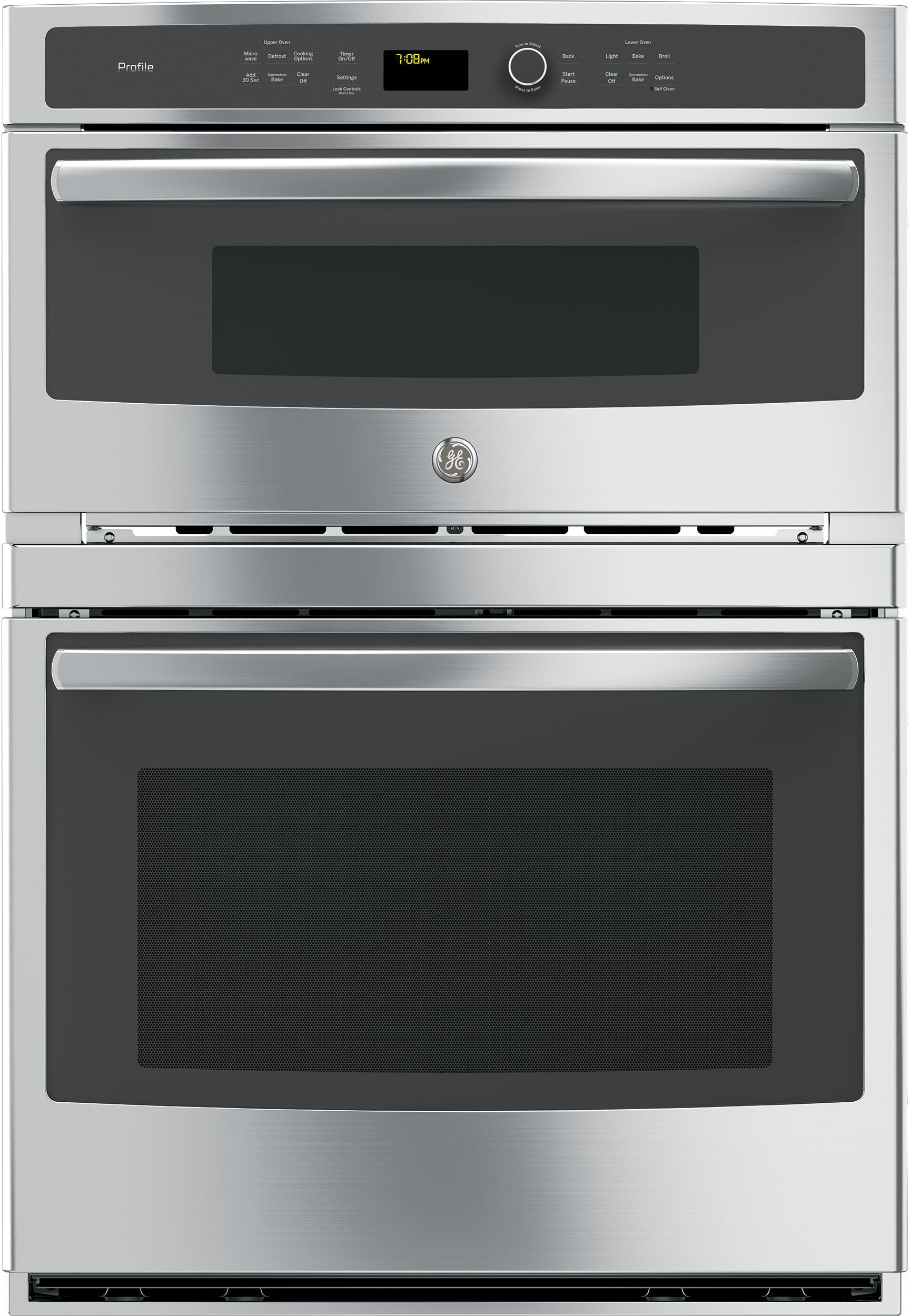 GE Profile Wall oven in Stainless Steel color showcased by Corbeil Electro Store