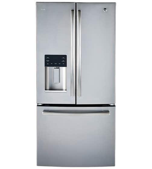 GE Profile réfrigérateur en couleur Acier Inoxydable présenté par Corbeil Electro Store