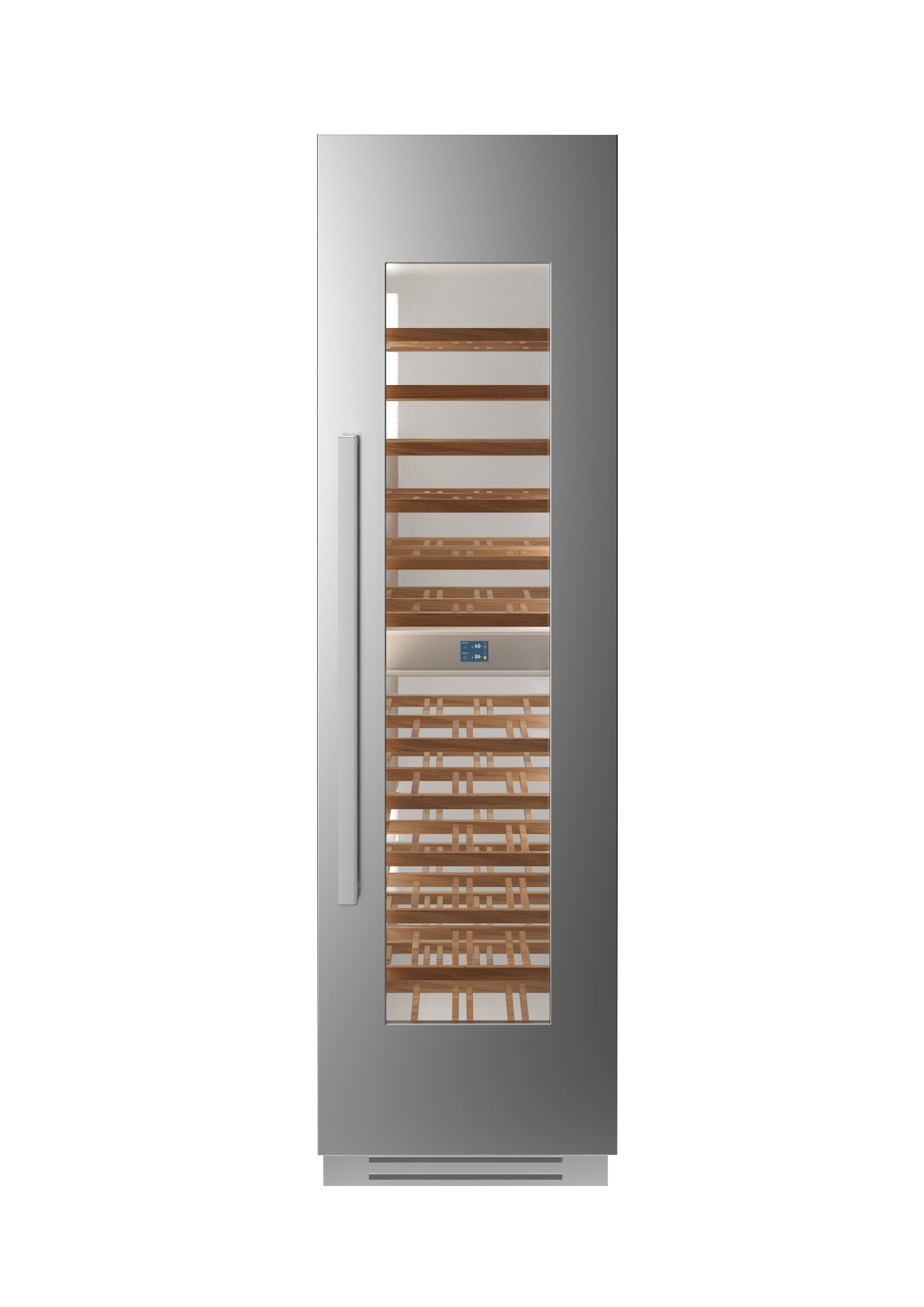 Bertazzoni Cellar REF24WCPIXR in Stainless Steel color showcased by Corbeil Electro Store