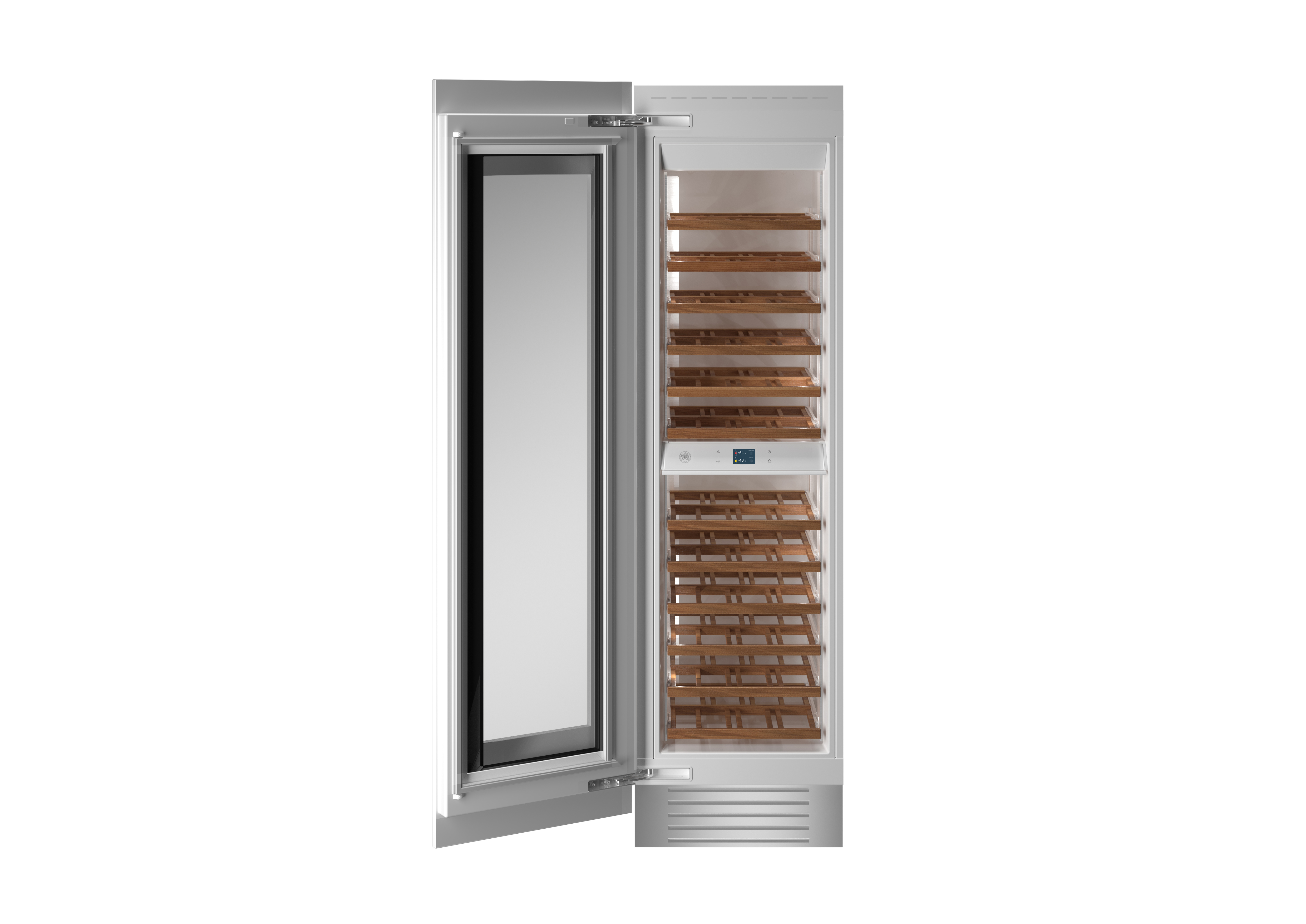 Bertazzoni Cellar REF24WCPRL in Pannel-Ready color showcased by Corbeil Electro Store