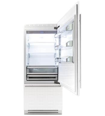 Bertazzoni Réfrigérateur 36po en couleur Acier Inoxydable présenté par Corbeil Electro Store