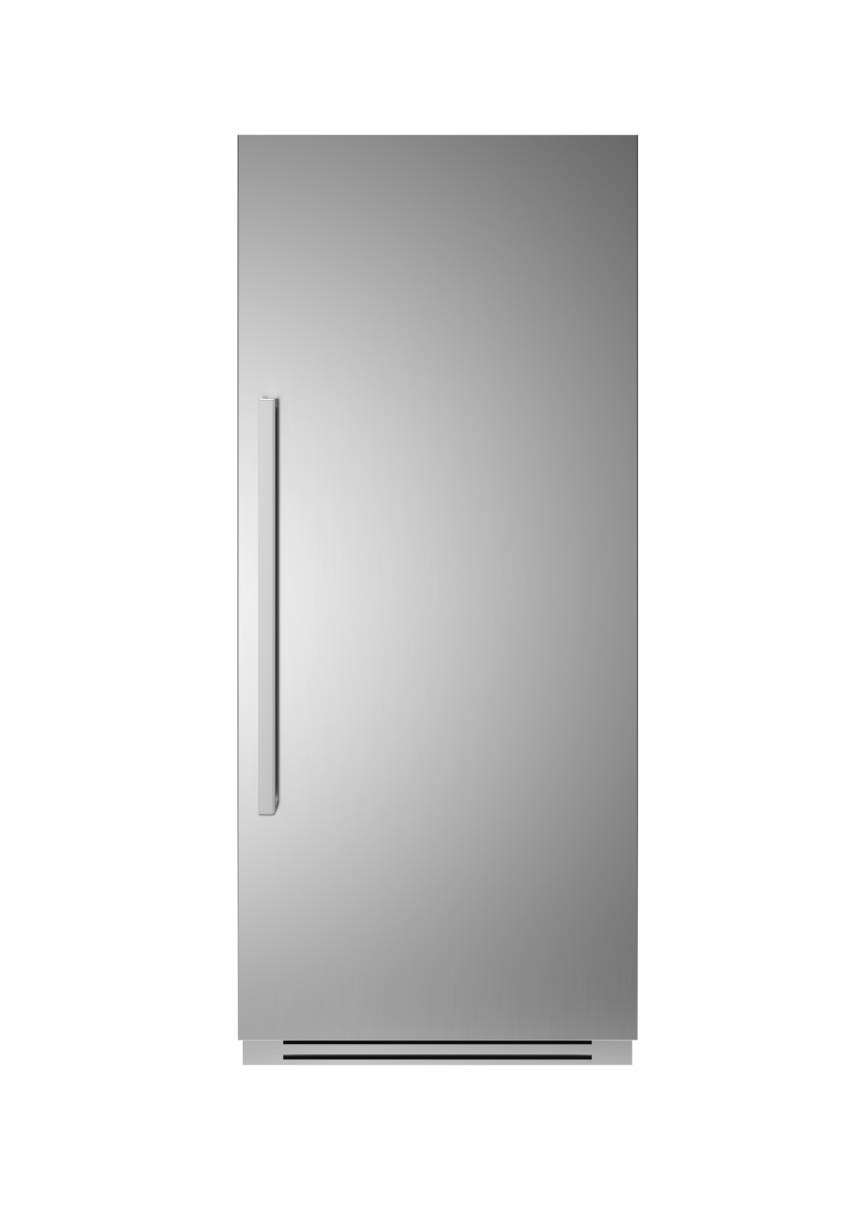 Bertazzoni Fridge REF36RCPIXR in Stainless Steel color showcased by Corbeil Electro Store