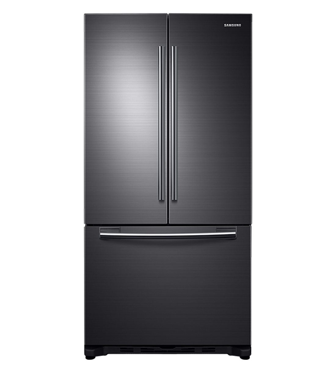 Samsung Refrigerator 33 RF18HFENBS showcased by Corbeil Electro Store
