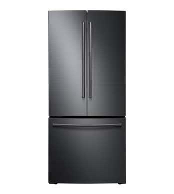 Samsung Réfrigérateur RF220NFTASG en couleur Acier Inoxydable Noir présenté par Corbeil Electro Store