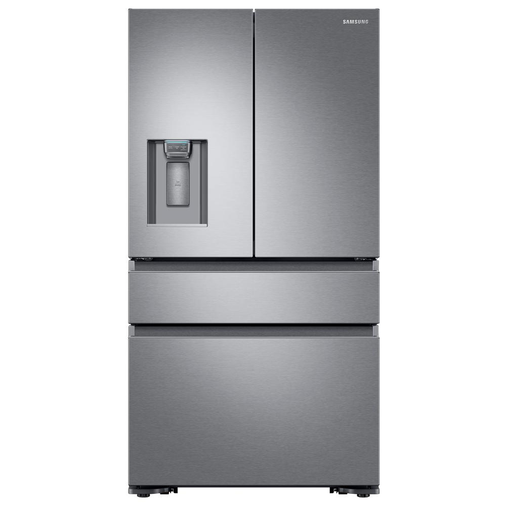 Samsung Fridge RF23M8070SR in Stainless Steel color showcased by Corbeil Electro Store