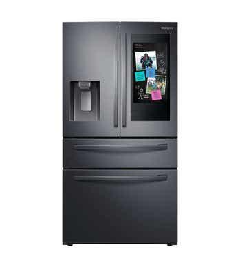 Samsung Réfrigérateur RF28R7551SG en couleur Acier Inoxydable Noir présenté par Corbeil Electro Store