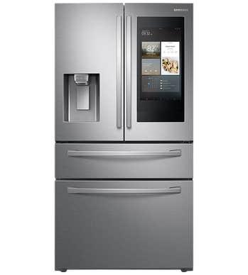 Samsung Réfrigérateur RF28R7551SR en couleur Acier Inoxydable présenté par Corbeil Electro Store