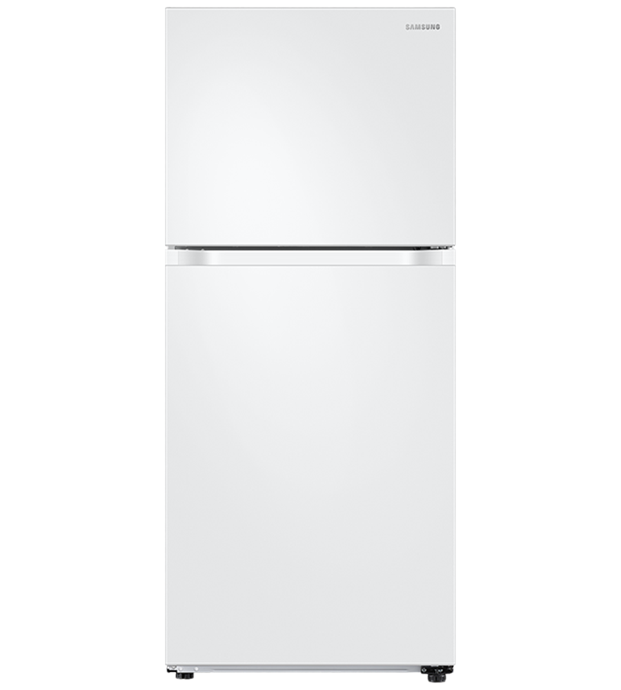Samsung Refrigerator 30 RT18M6213 in White color showcased by Corbeil Electro Store
