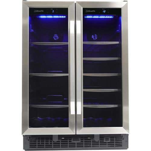 Silhouette Centre de breuvage SBC051D1BSS en couleur Acier Inoxydable présenté par Corbeil Electro Store