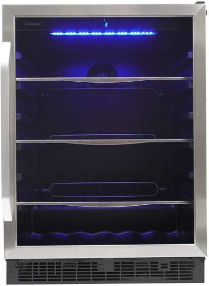 Silhouette Centre de breuvage SBC057D1BSS en couleur Acier Inoxydable présenté par Corbeil Electro Store
