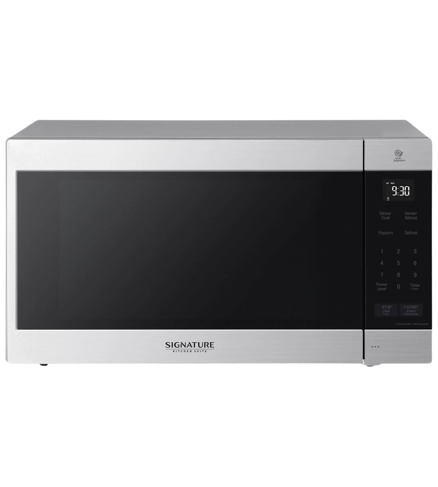 SKS Microwave in Stainless Steel color showcased by Corbeil Electro Store