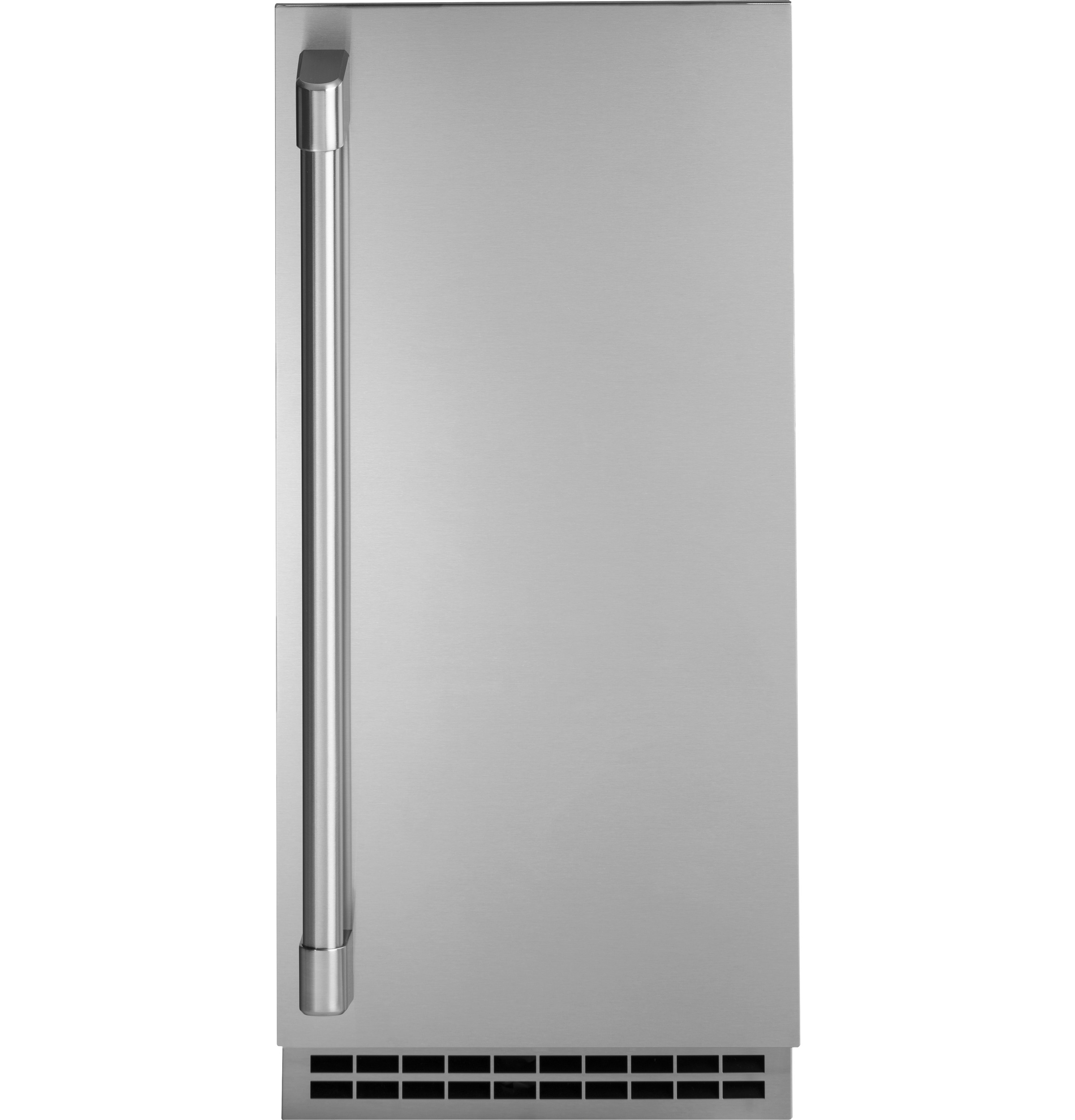 Monogram Ice Maker in Pannel-Ready color showcased by Corbeil Electro Store
