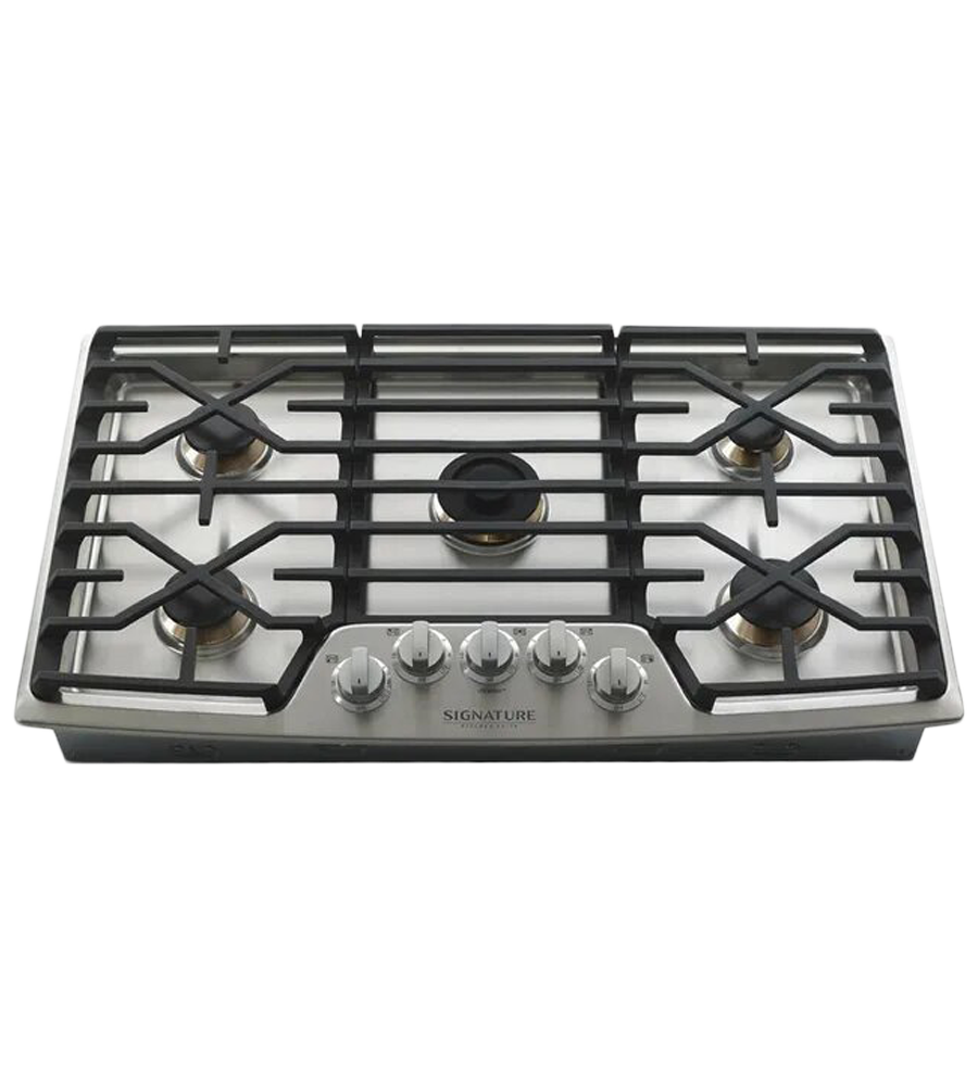 Cooktop SKS in Stainless Steel color showcased by Corbeil Electro Store