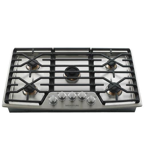 SKS Surface de cuisson en couleur Acier Inoxydable présenté par Corbeil Electro Store