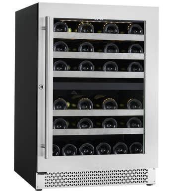 Cavavin Réfrigération spécialisée 34po en couleur Acier Inoxydable présenté par Corbeil Electro Store
