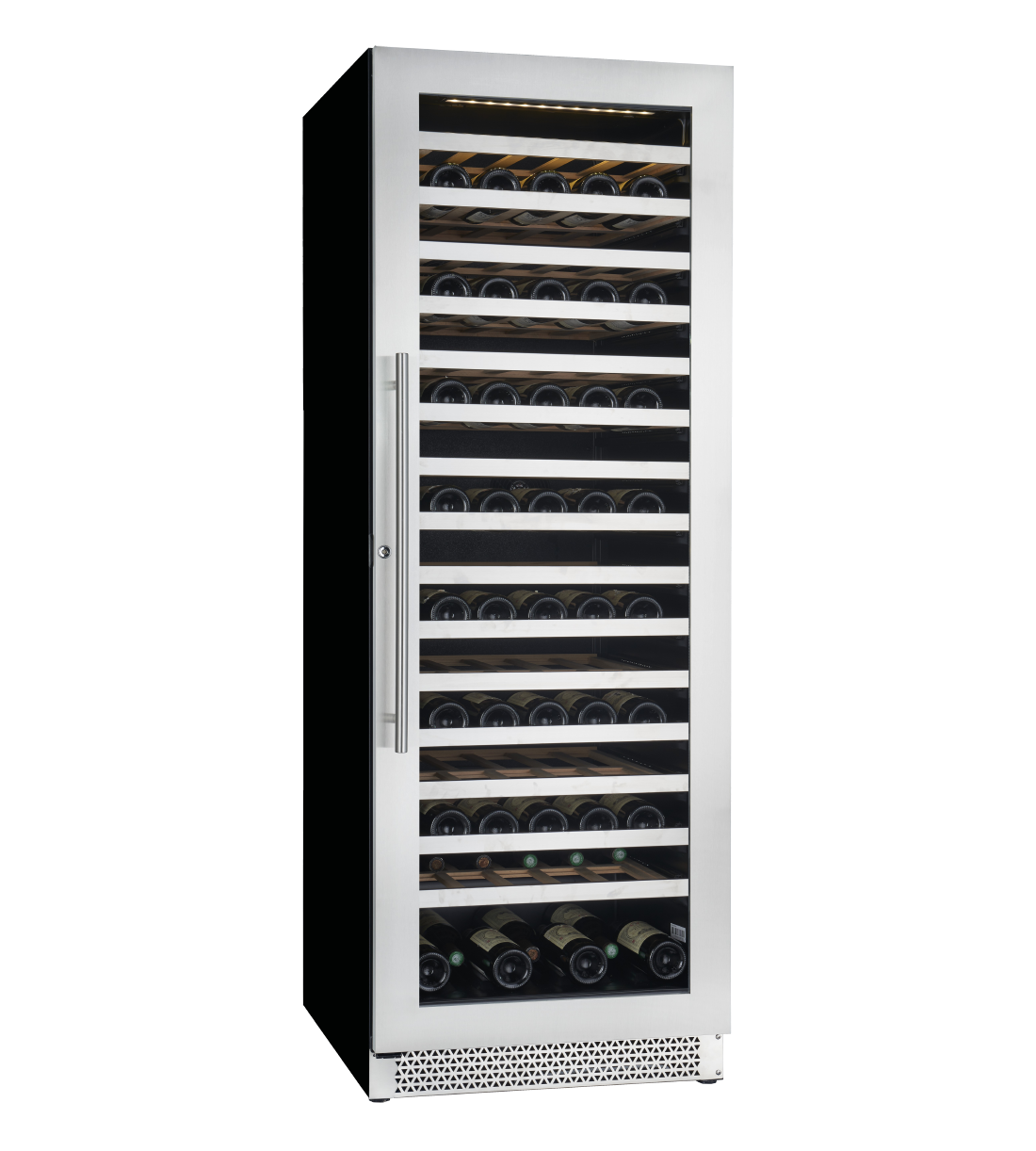 Cavavin Specialized refrigeration 68inch in Stainless Steel color showcased by Corbeil Electro Store