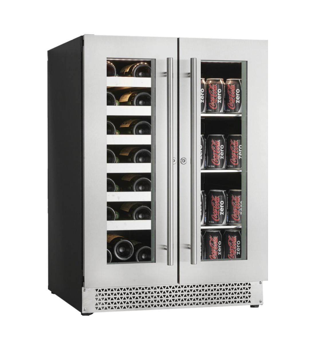 Cavavin Beverage center 24 StainlessSteel V-87WBVC