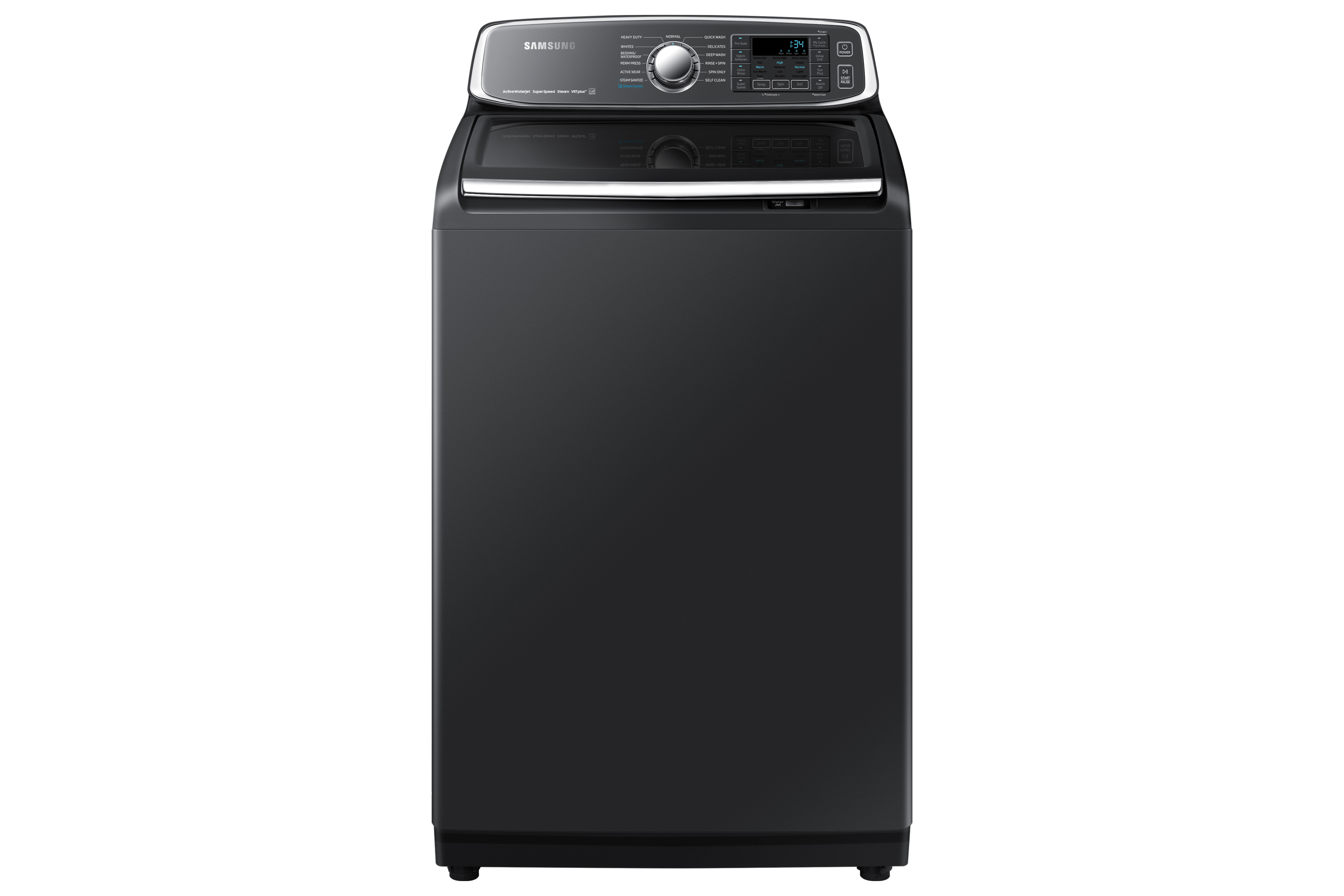 Samsung Washer in Black color showcased by Corbeil Electro Store