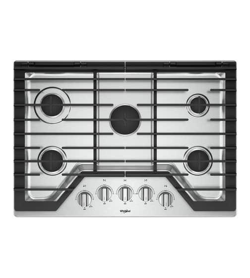 Plaque de cuisson Whirlpool en couleur Acier Inoxydable présenté par Corbeil Electro Store