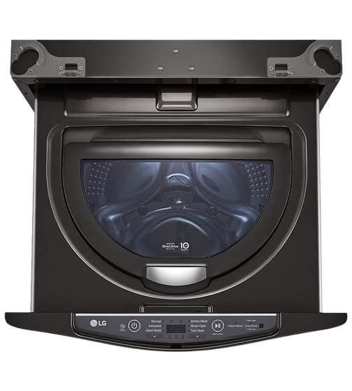 Laveuse LG en couleur Noir présenté par Corbeil Electro Store