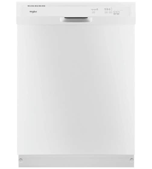 Lave-vaisselle Whirlpool en couleur Blanc présenté par Corbeil Electro Store