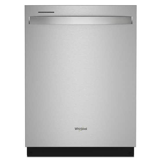Whirlpool Lave-vaisselle WDT750SAKZ en couleur Acier Inoxydable présenté par Corbeil Electro Store