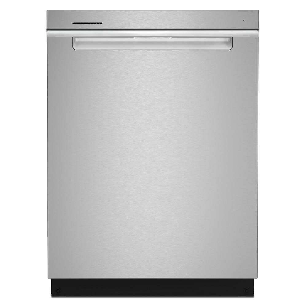 Whirlpool Dishwasher WDTA50SAKZ in Stainless Steel color showcased by Corbeil Electro Store